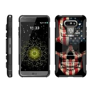 New beyond cell case for LG G6 black and red color